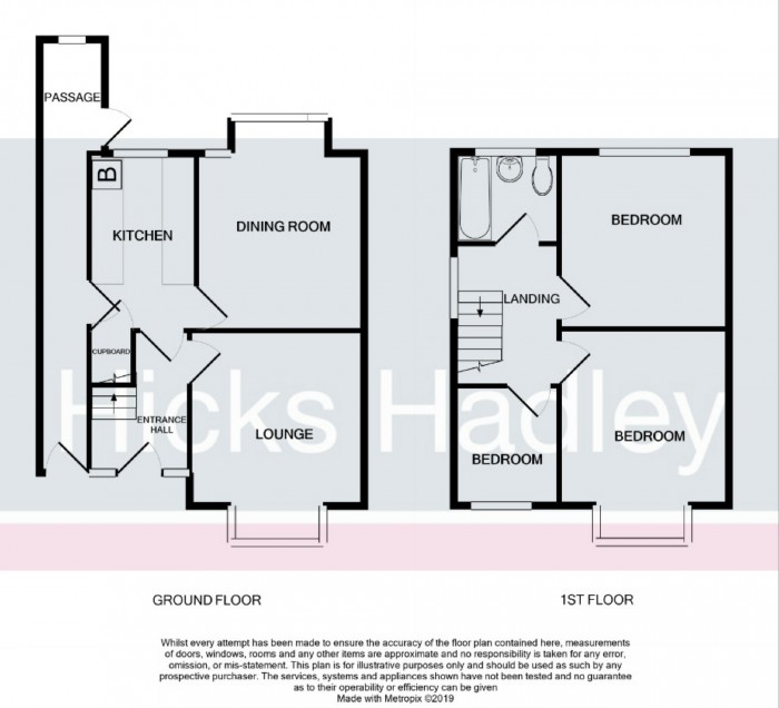 Floorplan for Shenstone Valley Road, Halesowen, West Midlands, B62